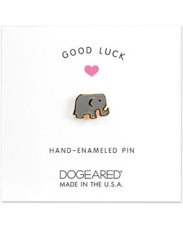 Brass Elephant Pin