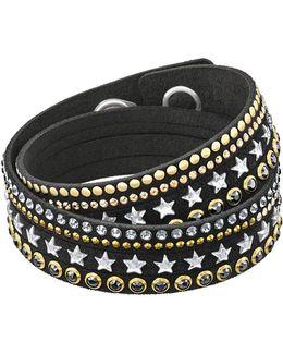 Slake Star Embellished Crystal Bracelet