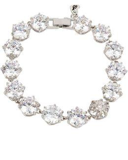Foldover Tennis Bracelet