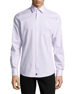 Casual Slim-fit Cotton Shirt