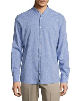 Cotton And Linen Sportshirt