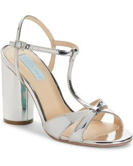 Luisa High Heel T-strap Sandals