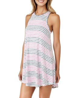Striped Slub Tank Dress