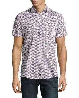 Sidney Short Sleeve Cotton Shirt