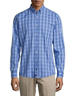 Gingham Plaid Sportshirt