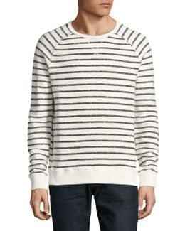 Mad Striped Cotton Sweater