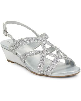 Gomeisa Embellished Wedge Sandals