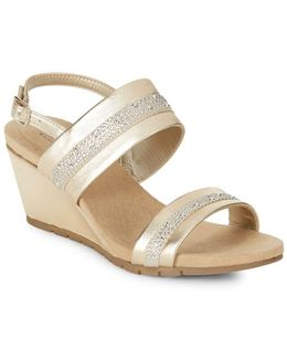 Greedson Wedge Sandals