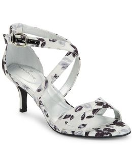 Nakayla Printed Dress Sandals