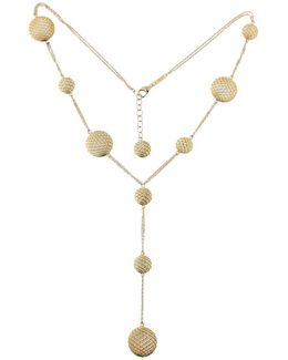 18k Yellow Gold 10 Elements Necklace