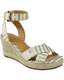 Gorgis Espadrille Wedge Sandals