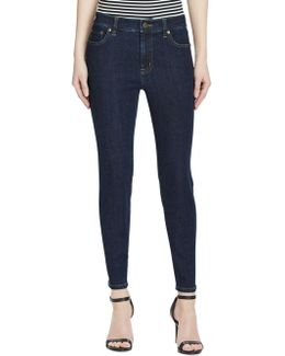 Premier Skinny Cropped Jeans