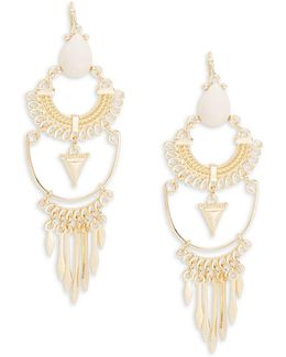 Tiered Chandelier Earrings