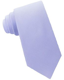 Frosted Solid Textured Woven Silk Tie