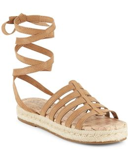 Wrap Espadrille Sandals