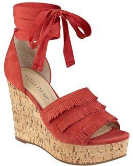 Zabre Platform Wedge Sandals