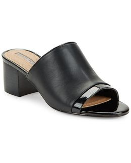 Daisie Leather Mules