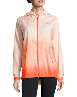 Relax Fit Hooded Jacket