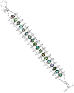 Key Item Abalone Ladder Bracelet