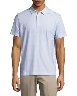 Stretch Cotton Performance Polo