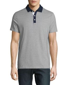Textured Performance Polo