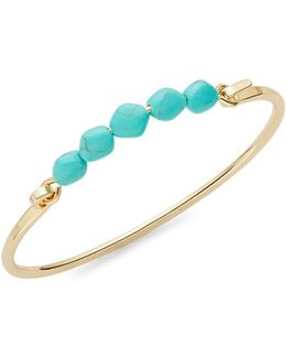 Turquoise And Caicos Cuff Bracelet