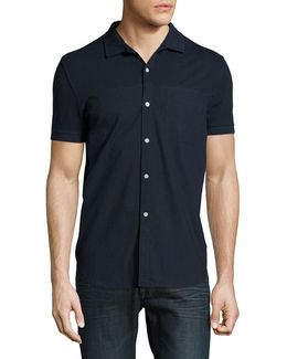 Short Sleeve Hybrid Casual Shirt