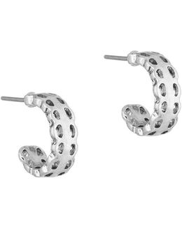 Baby J Hoop Earrings