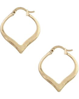 Arabesque Hoop Earrings-1-inch