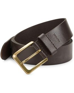 Featheredge Leather Belt
