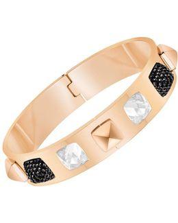 Glance Crystal And Rose Gold Bracelet