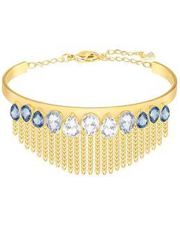 Gipsy Crystal And Gold Bracelet