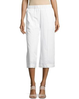 Four-pocket Culottes