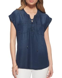Isabelle Chambray Shirt