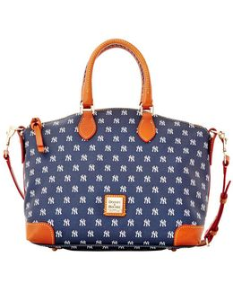 Mlb - Yankees Textured Satchel