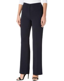Crepe Straight Leg Bella Pants