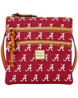 Sports Alabama Triple Zip Crossbody Bag