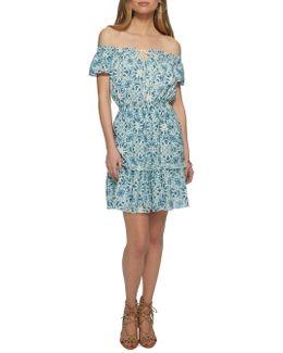 Yunice Off-the-shoulder Dress