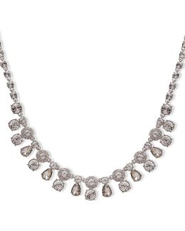 Glass Stone Neck Collar Necklace