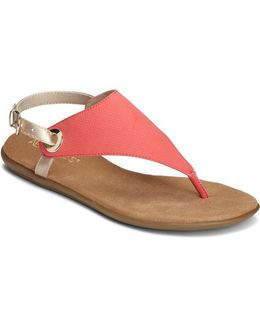 Conchlusion Thong Sandals