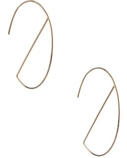 Wire Work Hoop Earrings