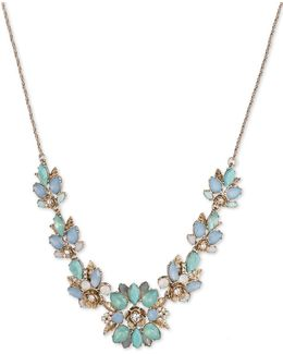 Floral Pattern Necklace- 32in