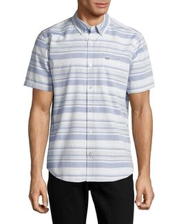 Striped Cotton Sportshirt