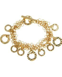 Shaky Open Circle Bracelet