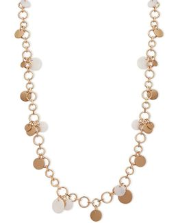 Mother-of-pearl Long Necklace