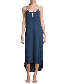 Ribbed Hi-lo Nightgown