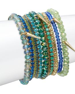 15-piece Stretch Bracelets