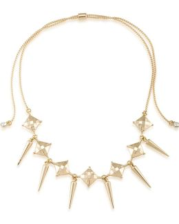 Chokers Spike Drop Adjustable Necklace