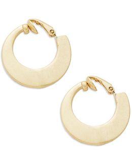 Fashion Hoop Clip Earrings