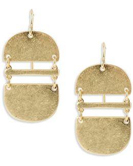 Elongated Drop Earrings